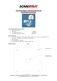 Dual PowerTower - DPT SR1/SR2-40/60 Installation Instructions