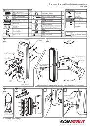 5 6 Scanstrut Scanpod Installation Instructions