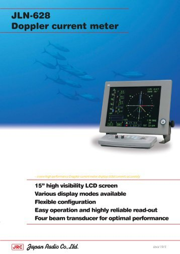 JLN-628 Doppler current meter