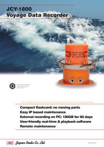 JCY-1800 Voyage Data Recorder