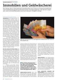 Immobilien und Geldwäscherei - Home - Hodler Rechtsanwälte