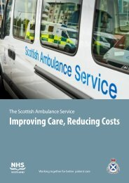Improving Care Reducing Costs