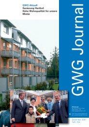 GWG Aktuell Sanierung Harthof: Hohe ... - GWG München