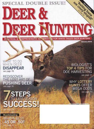 Deer & Deer Hunting Magazine- ATI Adjustable Gun Stock (January ...