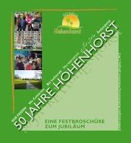 50 H O T - Hohenhorst