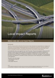 Local Impact Reports