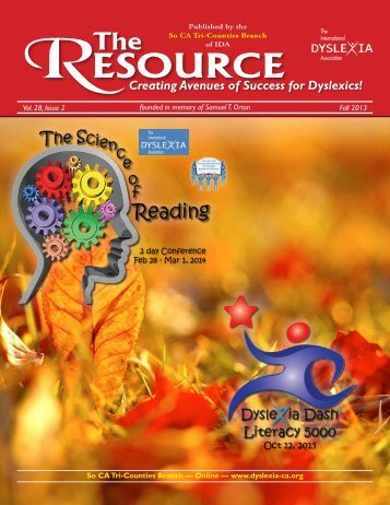 Creating Avenues of Success for Dyslexics!