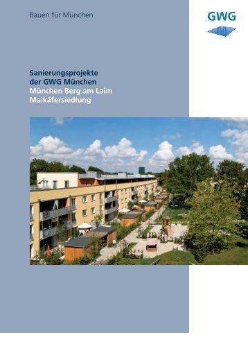 Neubau Echardinger Straße - GWG München