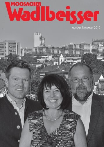 ausgabe november 2012 ausgabe november 2012 - SPD Moosach