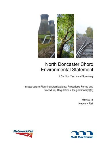 North Doncaster Chord Environmental Statement