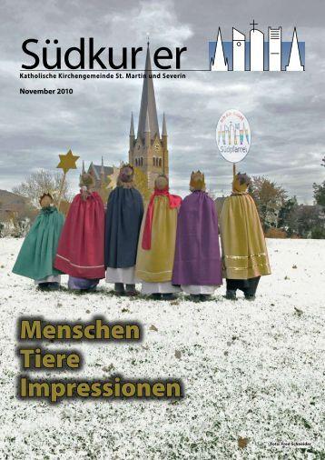 Weihnachten 2010 - St. Martin und Severin