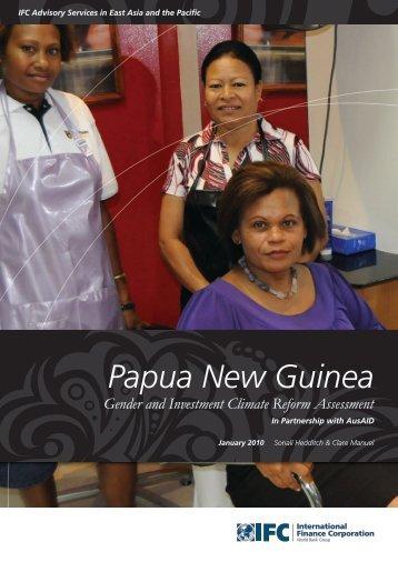 Papua New Guinea - IFC