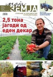 2,5 тона јагоди од еден декар