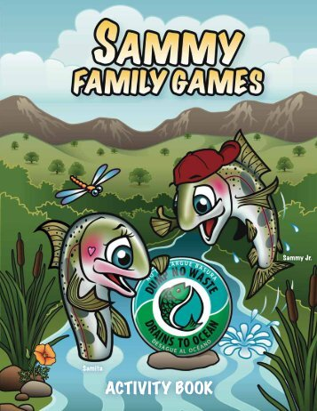 Sammy's New Activity Book
