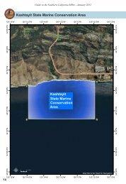 Map of Kashtayit SMCA - California MPA Educational Resources