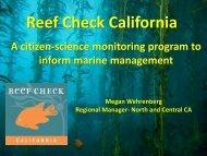 Reef Check California