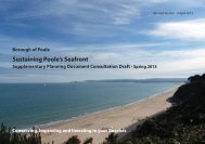 Sustaining Poole's Seafront