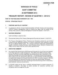 (Attachment: 3)Report - Borough of Poole