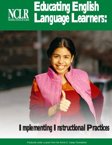 Educating English Language Learners: Implementing Instructional ...