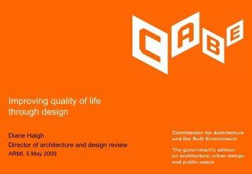 Improving quality of life through design