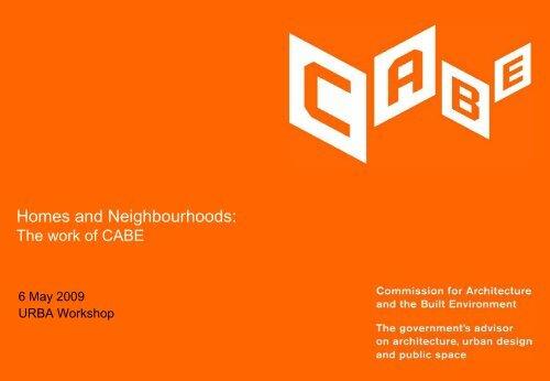 Homes and Neighbourhoods
