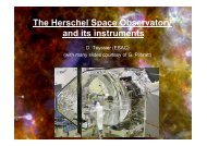 The Herschel Space Observatory and its instruments