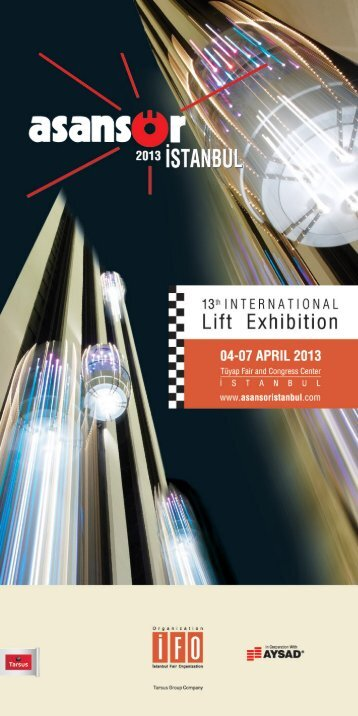 Page 1 13m N'EHNmi0NAL Lift Exhibition 04-07 APRIL 2013 ...