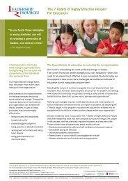 2012-271 LRM 7 Habit.. - Leadershipresources