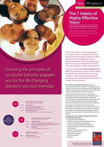 7HTeens_12-13Mar2011.. - Leadershipresources