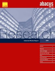 Industrial Market Report 2009 - ACAI