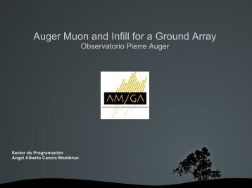 Auger Muon and Infill for a Ground Array