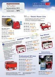 DUPLEX Silent Line Top8Klasse Professional GT Line Line Power ...