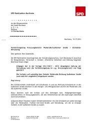 Antrag Vorfahrtsregelung Kreuzungsbereich ... - SPD Northeim