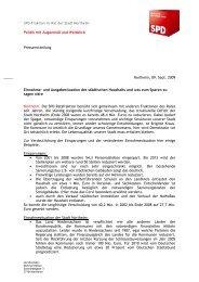 Politik mit Augenmaß und Weitblick ... - SPD Northeim