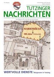 Download Heft 05 / Mai 2012 - Tutzinger Nachrichten