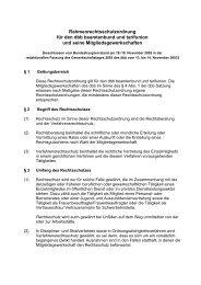 Rahmenrechtsschutzordnung für den dbb beamtenbund und ... - GeNi