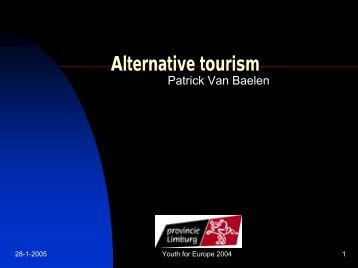 Alternative tourism