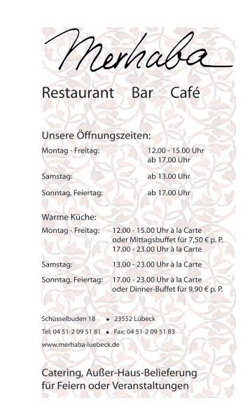 Restaurant Bar Café - Restaurant Merhaba