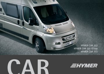 HYMER CAR 322 HYMER CAR 322 GTline HYMER CAR 372