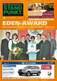 Radkersburger Standpunkt - Ausgabe 03/2008 - Steirische Volkspartei