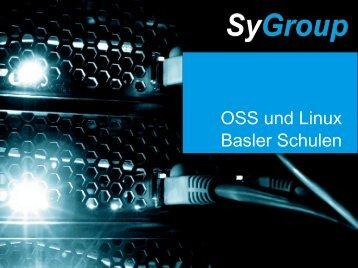 OSS und Linux Basler Schulen
