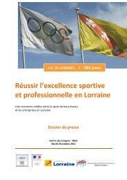 Réussir l'excellence sportive et professionnelle en Lorraine