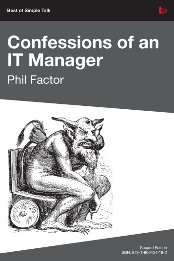 Confessions of an IT Manager_Phil Factor