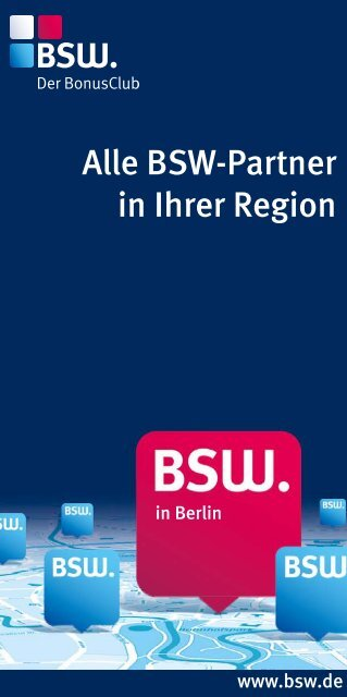 Alle Bsw Partner In Ihrer Region
