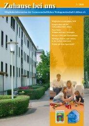 Serie: Zuhause bei uns - gwg-luebben-eg.de