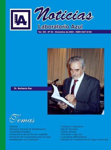 Dr Norberto Ras