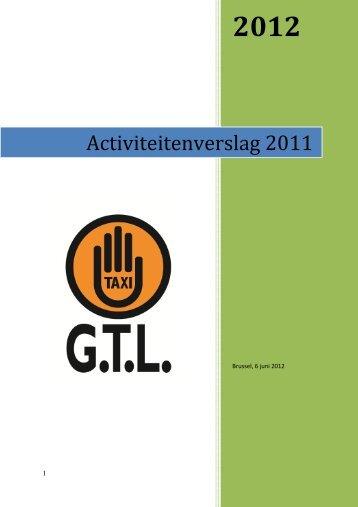 Activiteitenverslag 2011 - GTL
