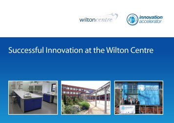 innovation accelerator i - Wilton Centre