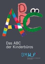 Das ABC der Kinderbüros