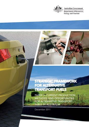 Strategic Framework for Alternative Transport Fuels - Paper 3 ...